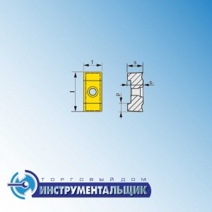 "режущая пластина HZ/2 16-16 P9:333TN ""Pramet"""