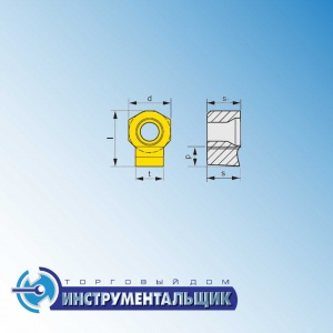 "режущая пластина HZ 1006-60 H7:333TN ""Pramet"""